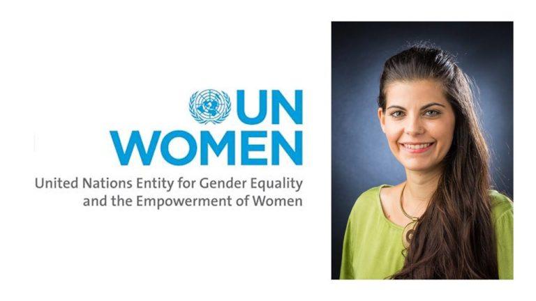 Nandita Representing UN Women Campaign